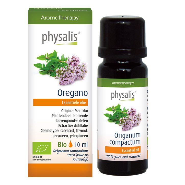 Physalis Oregano Olie Bio (10ml)
