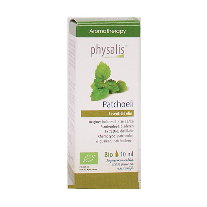 Physalis Patchoeli Olie Bio