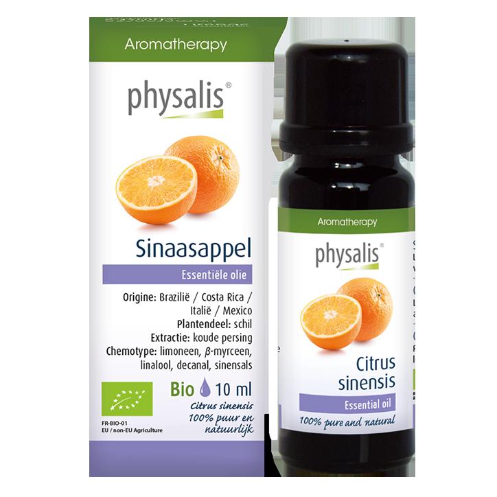 Physalis Sinaasappel Olie Bio