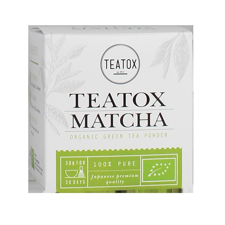 Teatox Matcha Groene Thee Poeder Bio