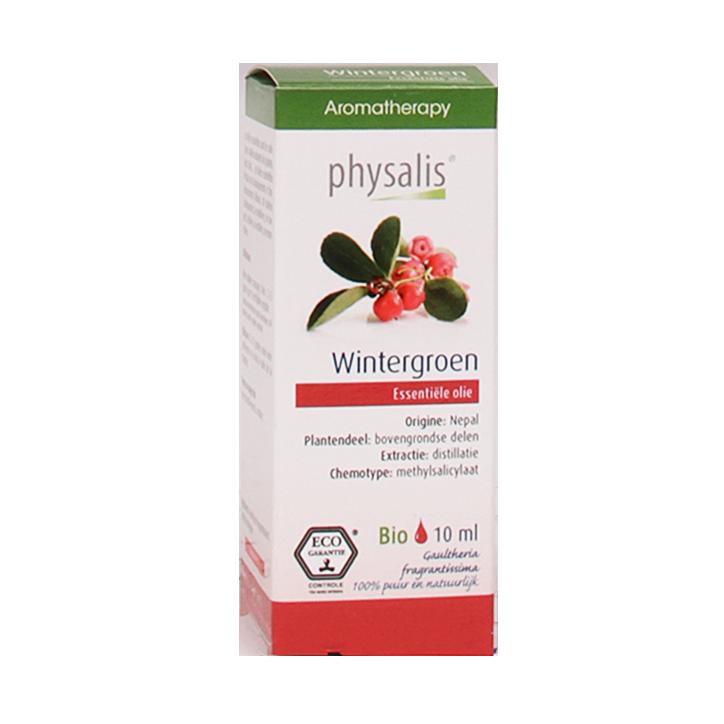 Physalis Wintergroen Olie Bio