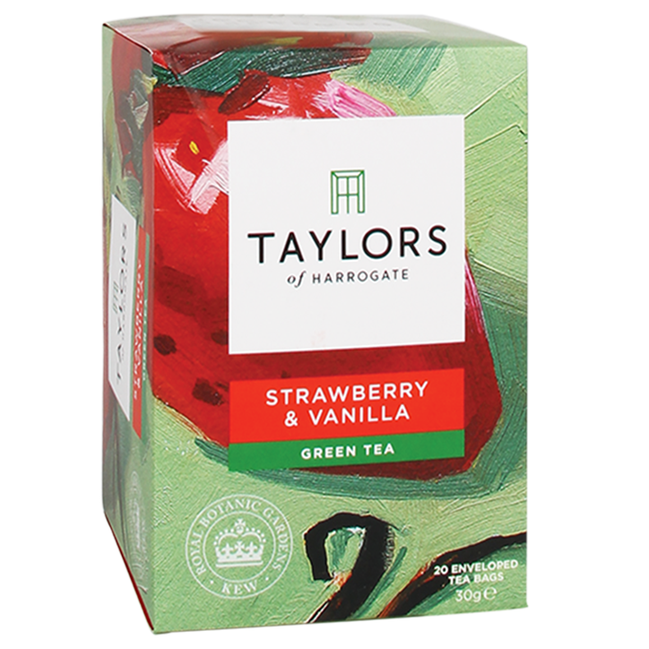 Taylors Of Harrogate Green Tea Strawberry & Vanilla