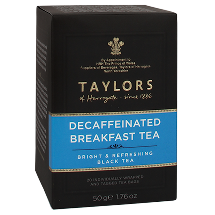 Taylors Of Harrogate Decaffeinated Breakfast Tea