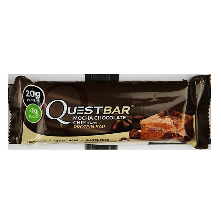Quest Protein Bar Mocha Chocolate Chip 60g