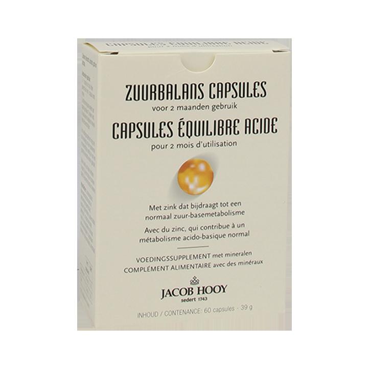 Jacob Hooy Zuurbalans Capsules