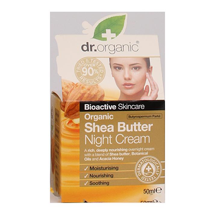 Dr. Organic Shea Butter Night Cream