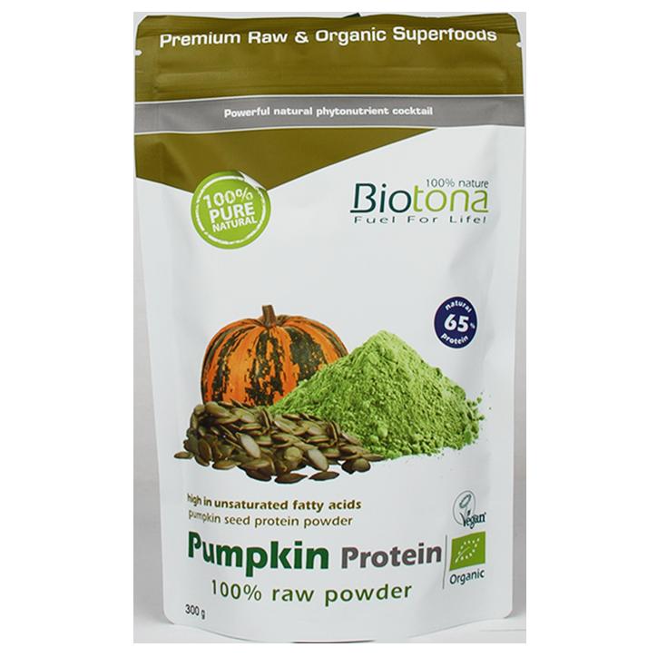 Biotona Pompoen Proteine Raw Bio (300gr)