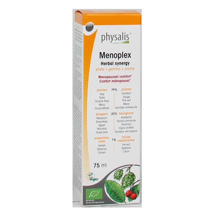Physalis Menoplex Kruiden Synergie Druppels Bio (75ml)
