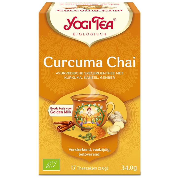 Yogi Tea Chai Curcuma Bio (17 Theezakjes)