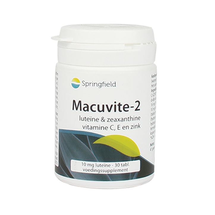 Springfield Macuvite-2 Luteine & Zeaxanthine (30 Tabletten)