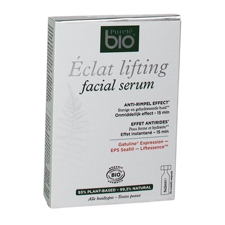 Pureté Bio Eclat Lifting Facial Serum (5x2ml Ampullen)