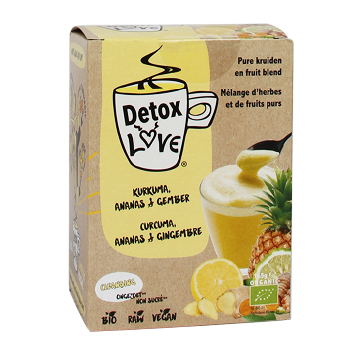 Detox Love Hot Drink Bio (5 Sachets)