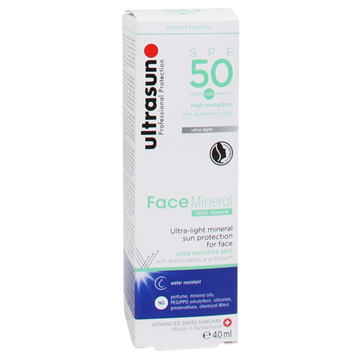 Ultrasun Mineral Face Zonnebrandlotion SPF50