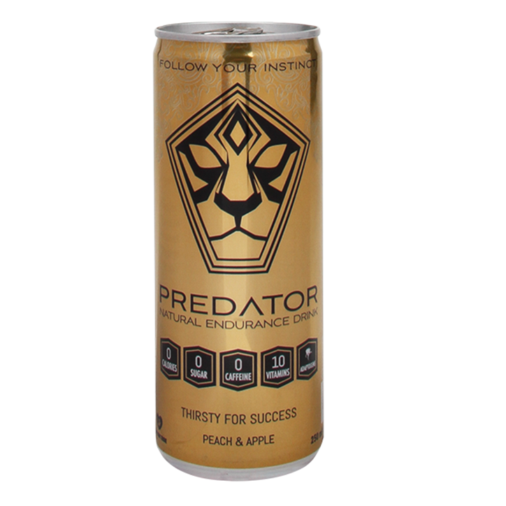 Predator Natural Endurance Drink Gold 250ml