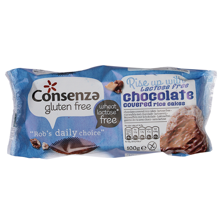 Consenza Choco Rijstwafels Glutenvrij