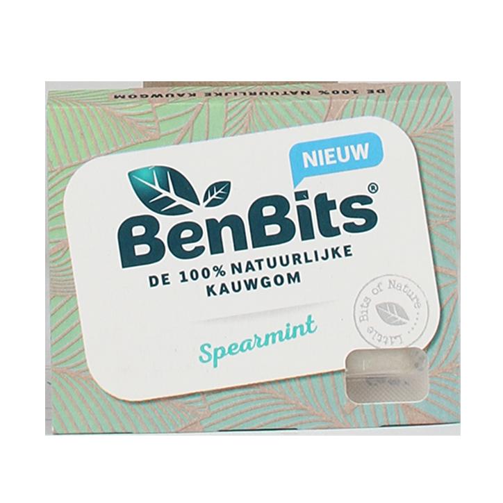BenBits 100% Natuurlijke Kauwgom Spearmint