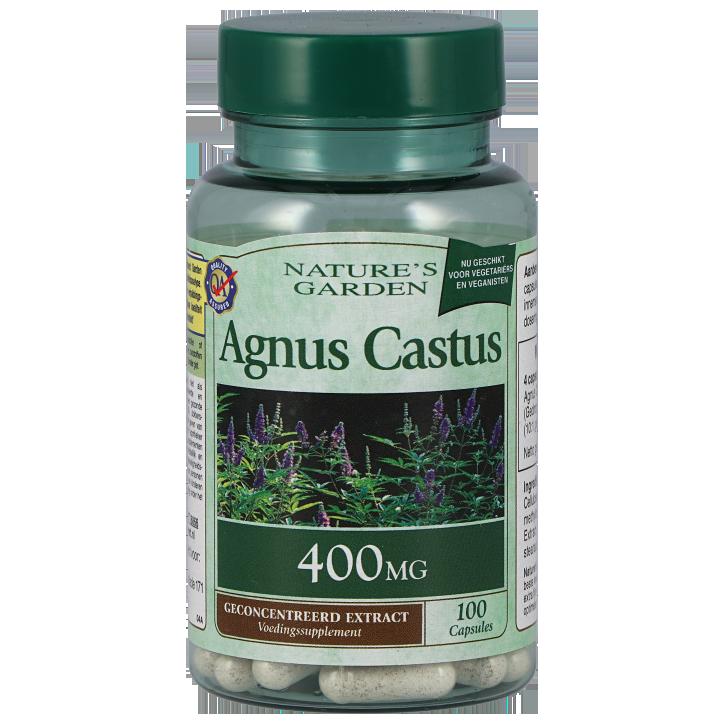 Nature's Garden Agnus Castus, 400mg (100 Capsules)