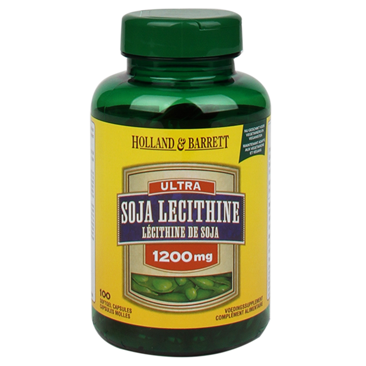 Holland & Barrett Ultra Soja Lecithine, 1200mg (100 Capsules)
