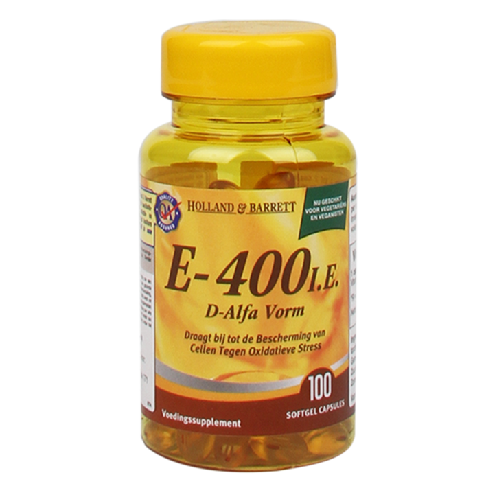 Holland & Barrett Vitamine E-400 IE (100 Capsules)