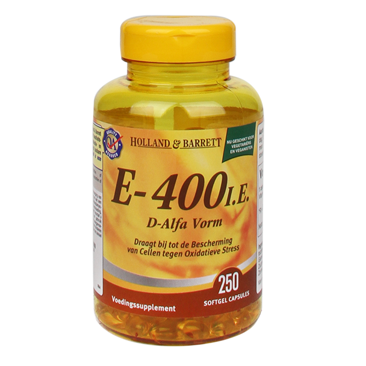 Holland & Barrett Vitamine E400 (250 Capsules)