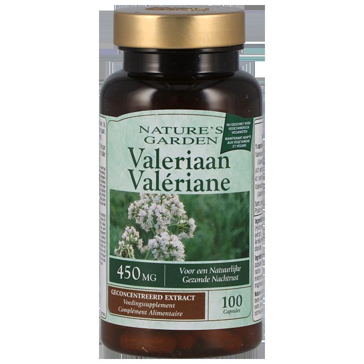 Nature's Garden Valeriaan 450mg