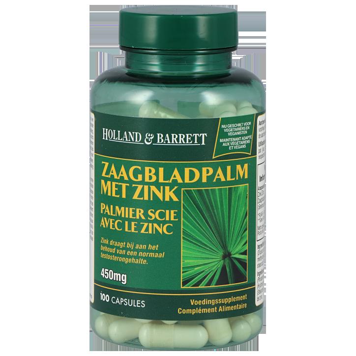Holland & Barrett Zaagbladpalm 450mg