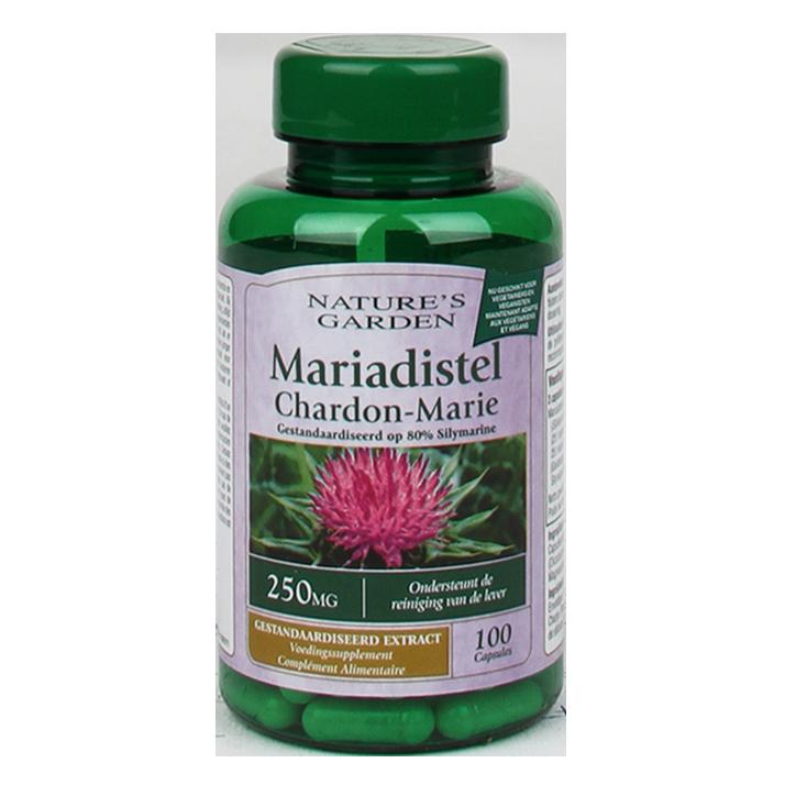 Nature's Garden Mariadistel, 250mg (100 Capsules)