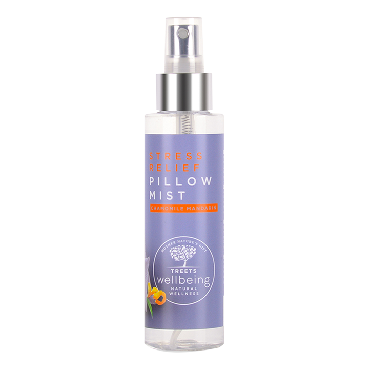 Treets Pillow Mist Stress Relief Chamomile Mandarin
