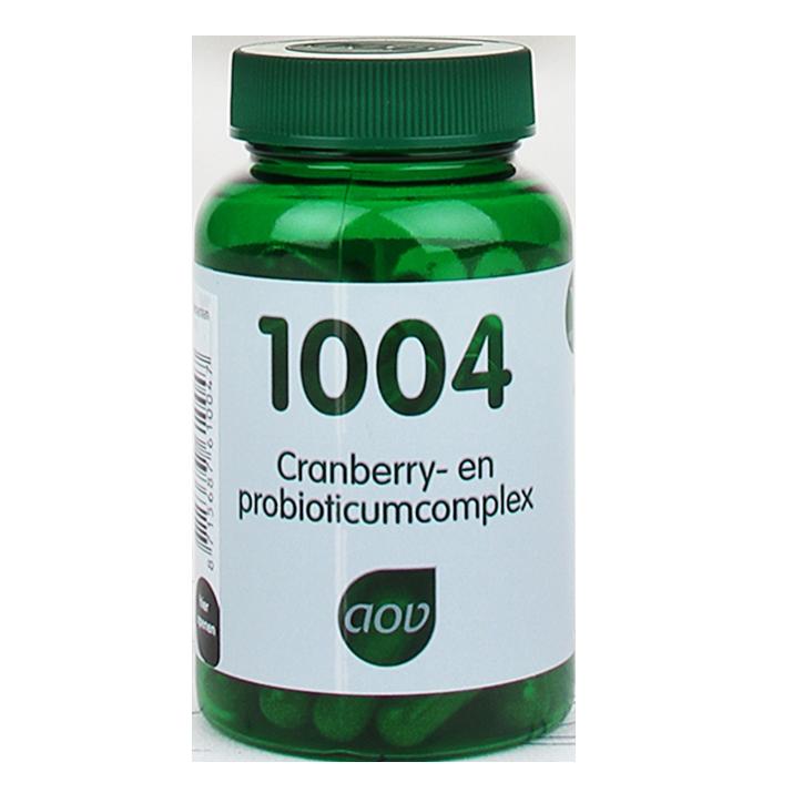 AOV 1004 Cranberry- & Probioticumcomplex (60 Capsules)