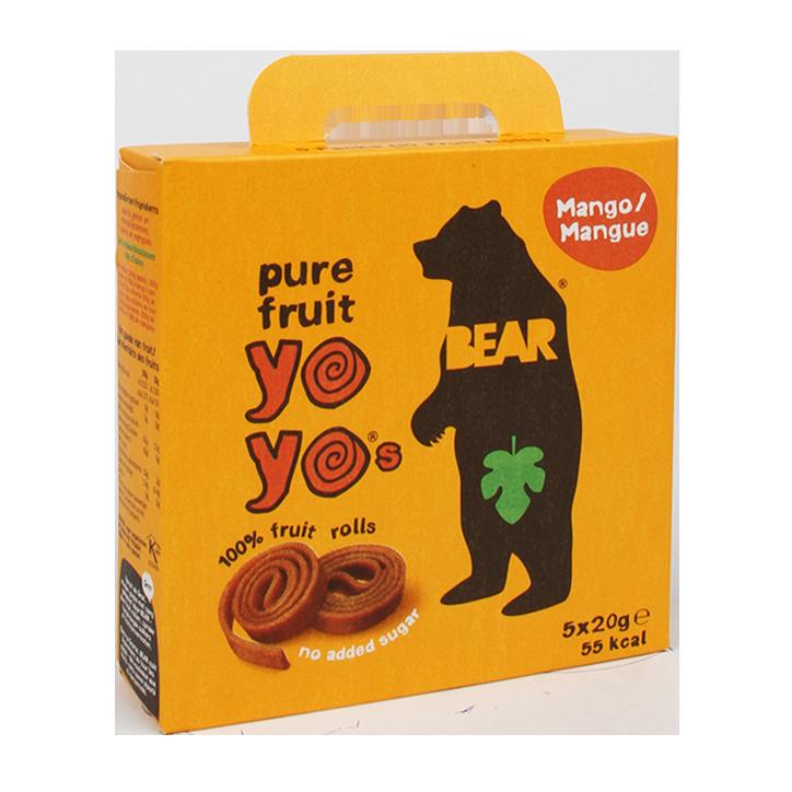 Bear Yoyo Mango Fruitrolletjes