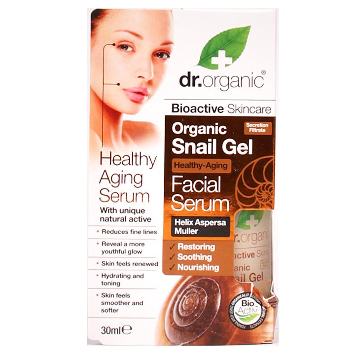 Dr. Organic Snail Gel Facial Serum
