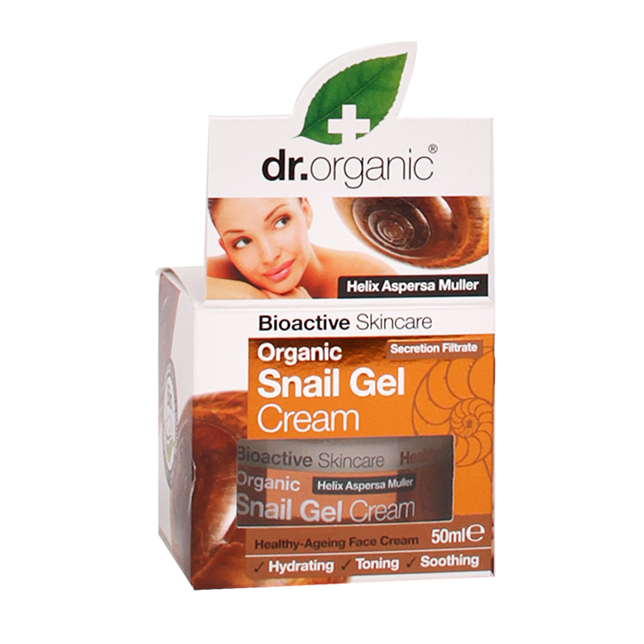 Dr. Organic Snail Gel Face Cream