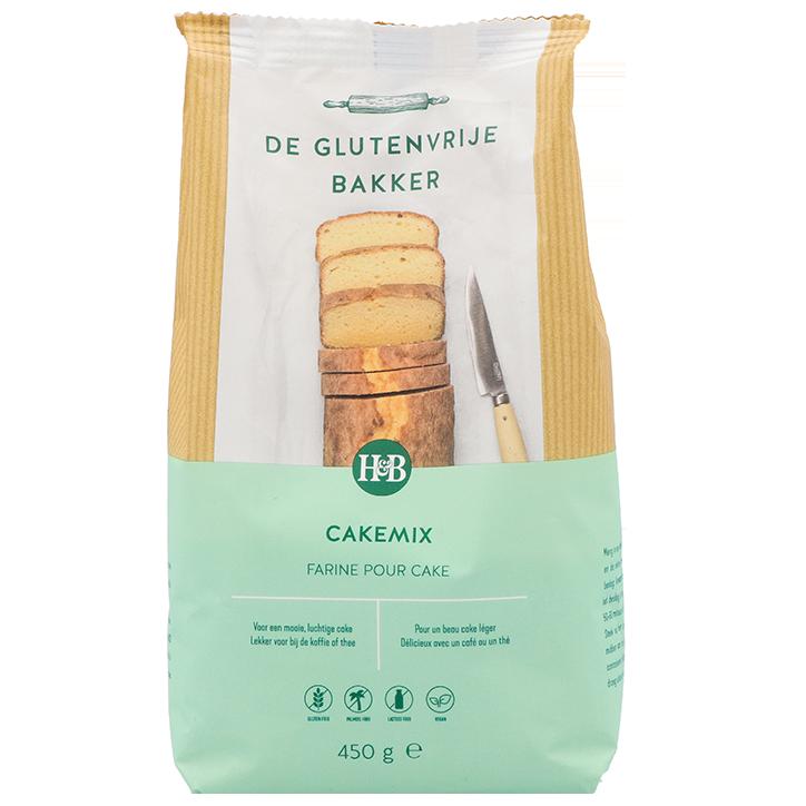 De Glutenvrije Bakker Farine pour Cake