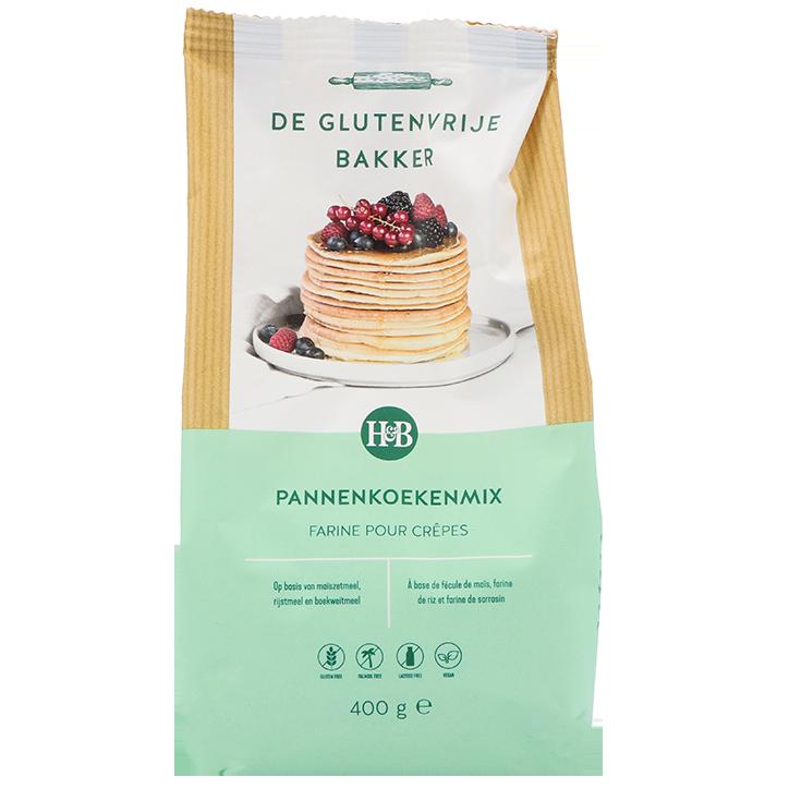 De Glutenvrije Bakker Pannenkoekenmix (400gr)
