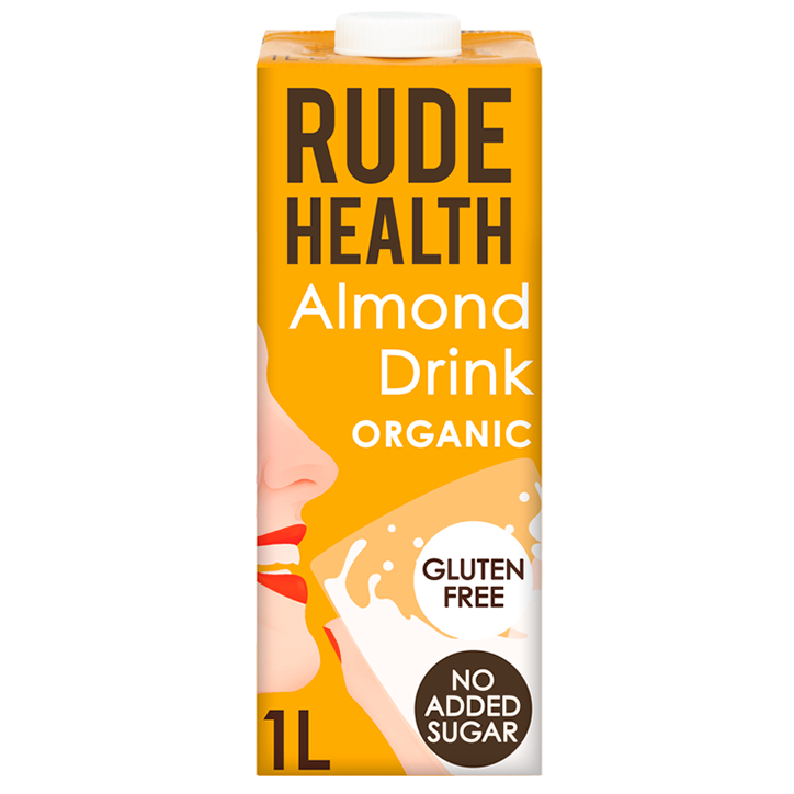 Rude Health Almond Drink Bio