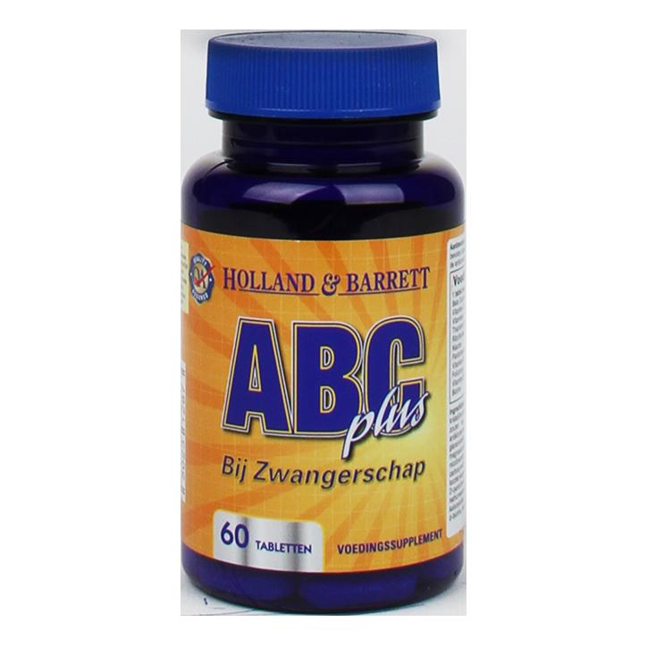 Holland & Barrett Multi Zwangerschap ABC Plus (60 Tabletten)