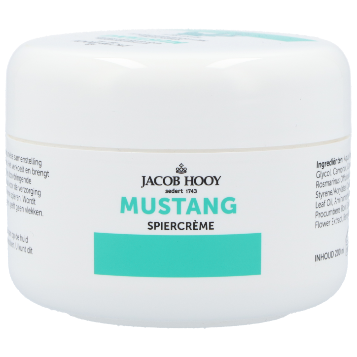 Jacob Hooy Mustang Spiercrème 200ml