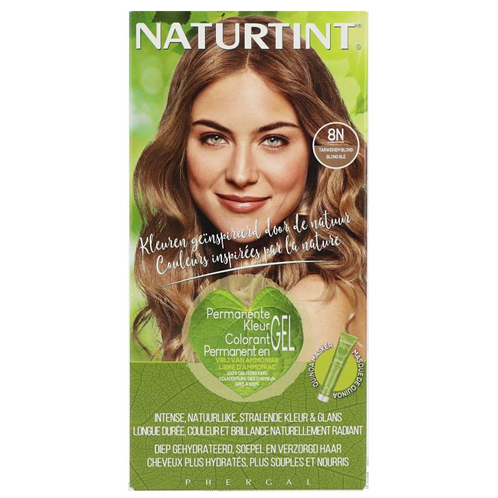 Naturtint Permanente Haarkleuring 8N Tarwekiem Blond