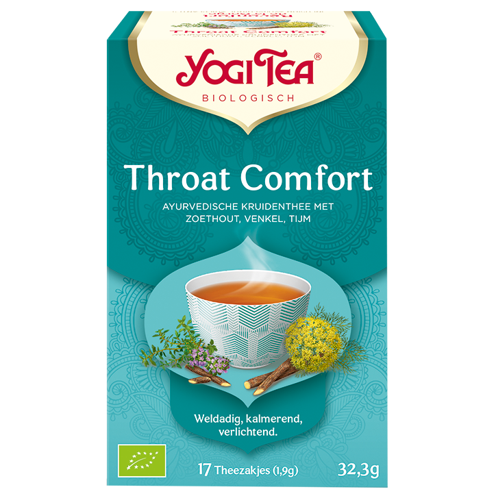 Yogi Tea Throat Comfort (17 Theezakjes)