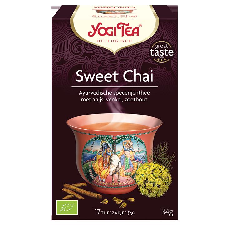 Yogi Tea Sweet Chai (17 Theezakjes)