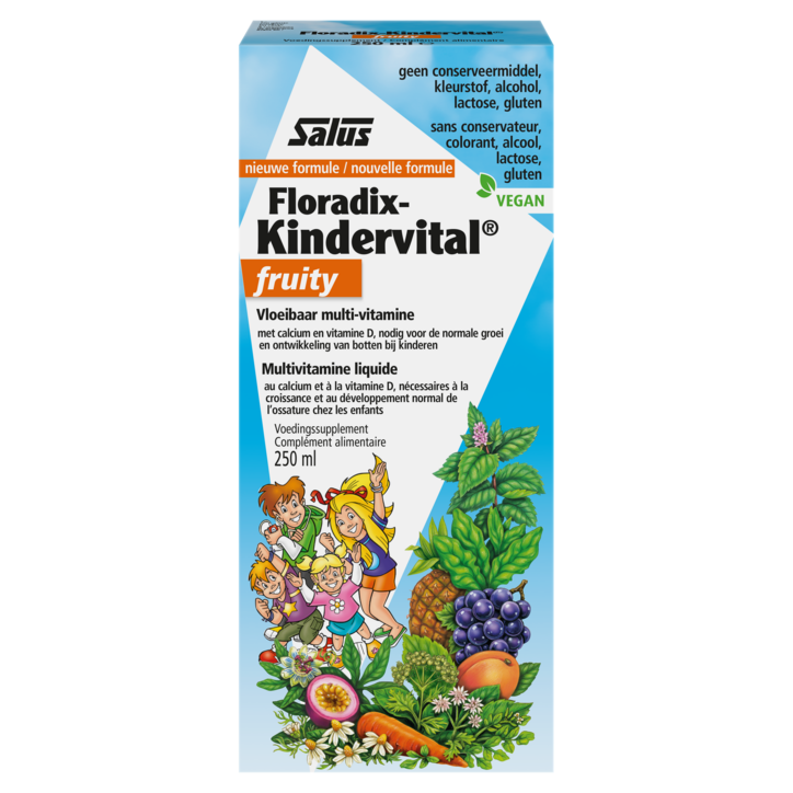 Floradix Kindervital Fruity (250ml)