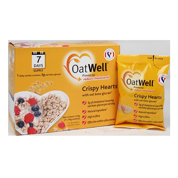 Oatwell Crispy Hearts 7x30 gr
