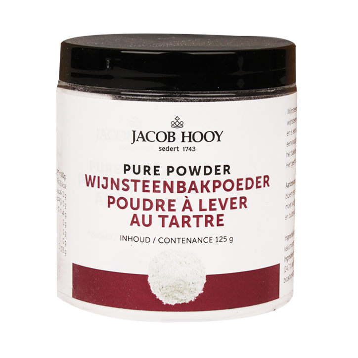 Jacob Hooy Levure chimique acide tartrique