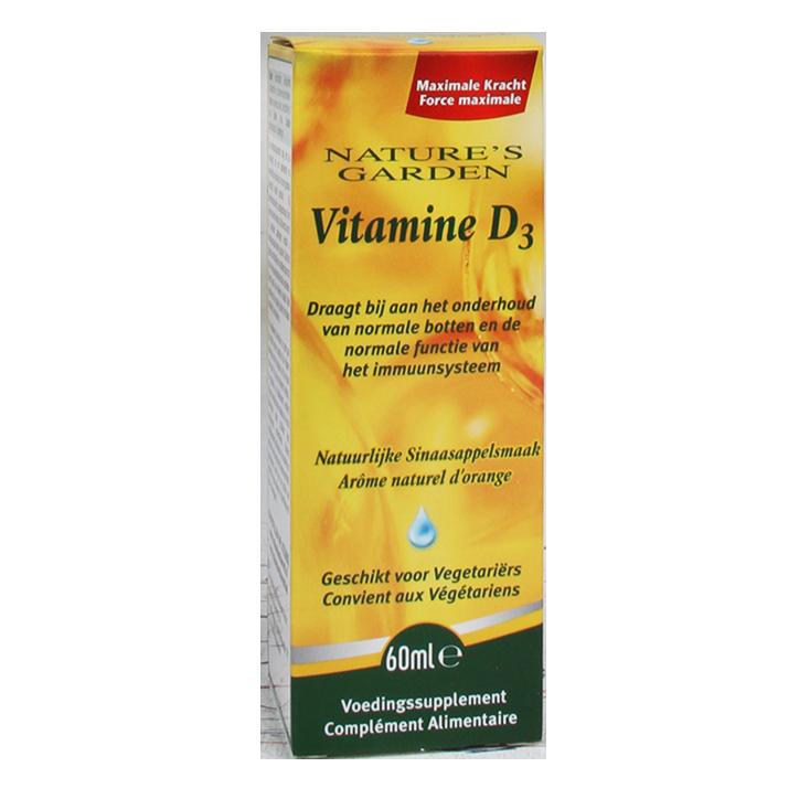 Holland & Barrett Vitamin D3 liquide action rapide 60 ml