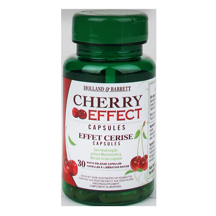 Holland & Barrett Cherry Effect (30 Capsules)