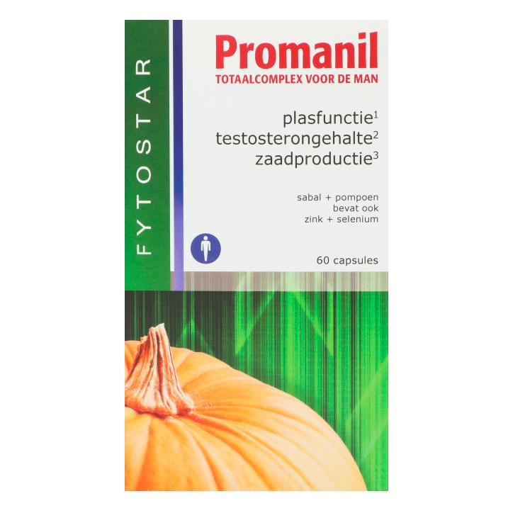 Fytostar Promanil Totaalcomplex Man (60 Capsules)