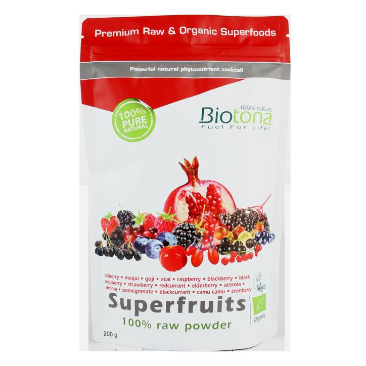 Biotona Superfruits Poudre de super fruits Bio