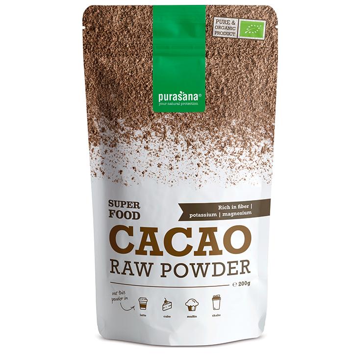 Purasana Raw Cacaopoeder Bio (200gr)