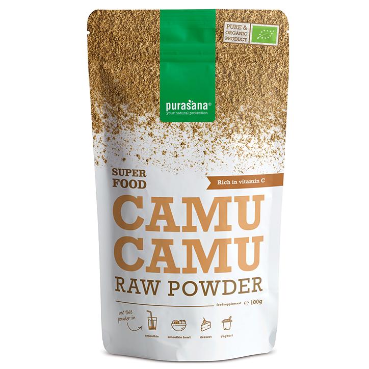 Purasana Raw Camu Camu Poeder Bio (100gr)