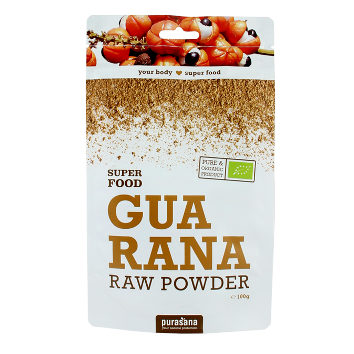 Purasana Raw Guarana Poeder Bio